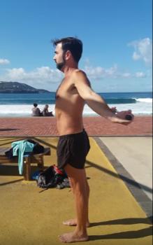 Ejercicio dislocación de hombro
