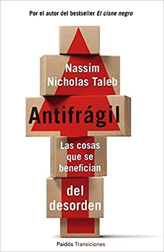 Portada del libro Antifrágil